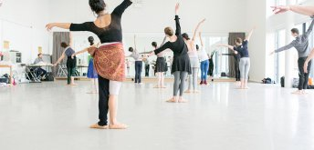 Cancelled: Daily Morning Class: Lindsay Ashe-Browne  (Ballet)