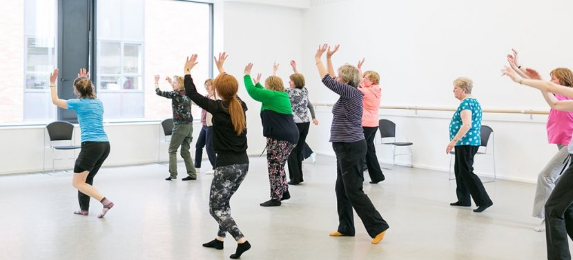 Dance Classes for People with Parkinson's