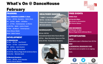 What's On at DanceHouse February