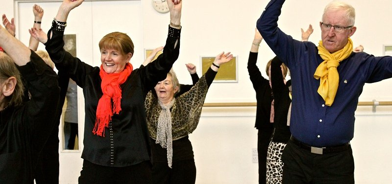 The Floor is Yours! A networking day for dancers working with older people in Ireland