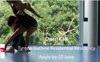 Residential Residency: Dance Ireland and Tyrone Guthrie:16 to 30 October